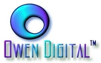 Owen Digital Logo - We're glad you're here!